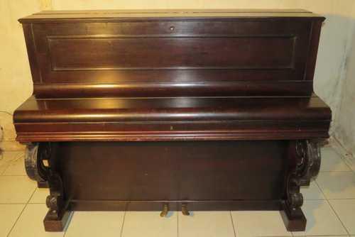 Piano ancien droit