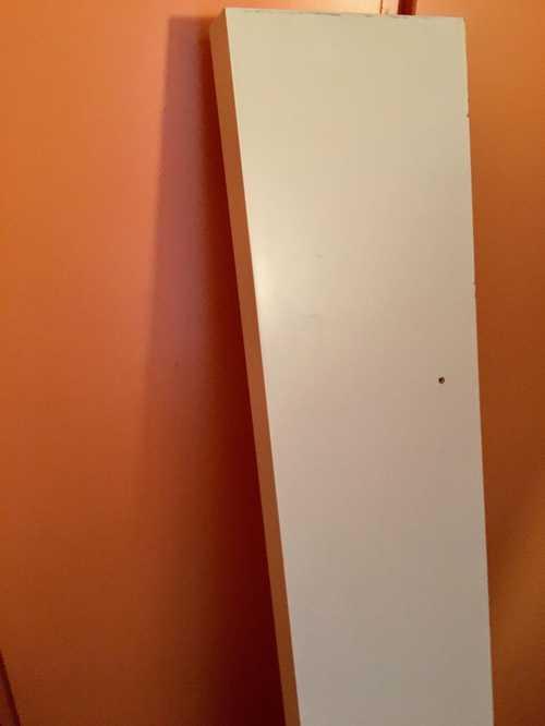 Lack étagère murale blanc 190cm