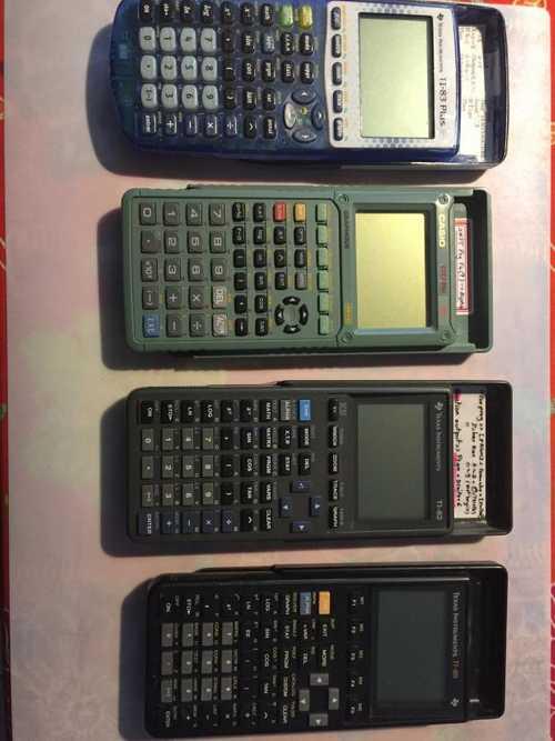 Cède Calculateurs Texas et Casio
