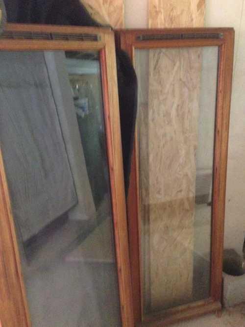 2 ouvrants fenêtre bois sans cadre