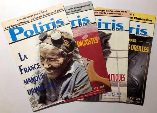 Collection du magazine Politis de 1988 à 2017