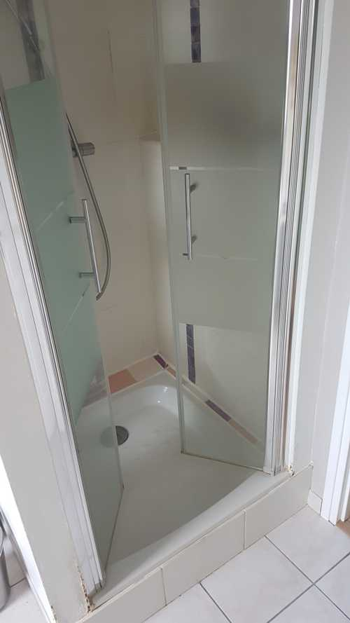 Bac de douche en céramique 80 x 80