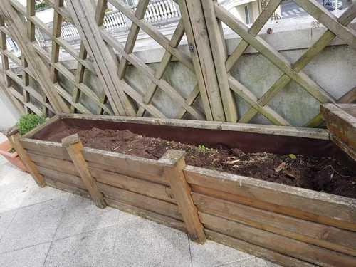 Terre pour bacs de terrasse ou jardin
