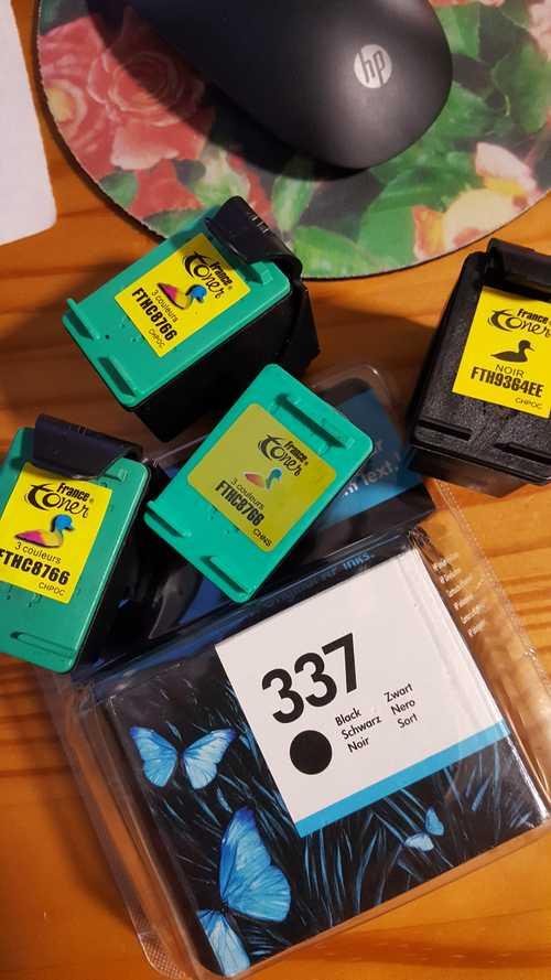 cartouche imprimante HP 337 noir