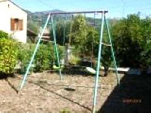 balançoire de jardin