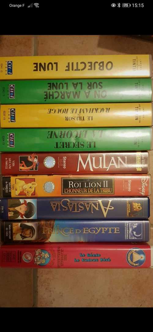 Donne k7 VHS