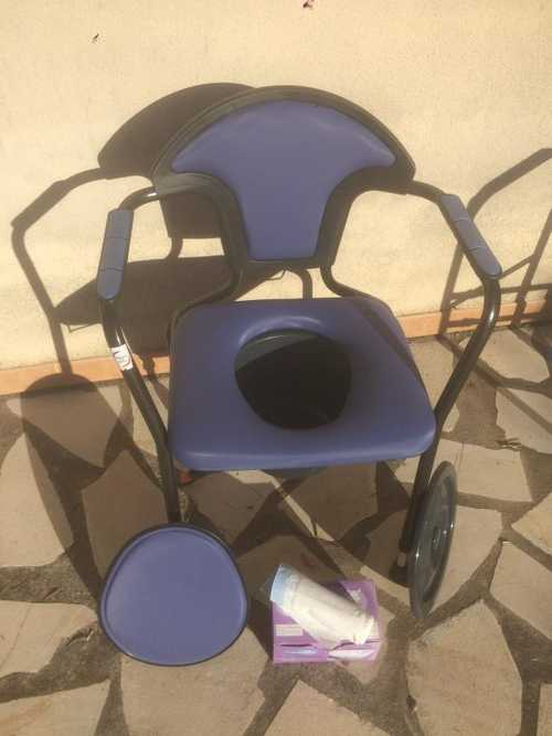 Chaise toilette