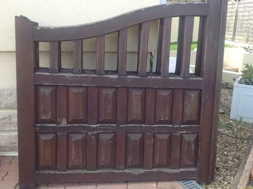 portail et portillon bois