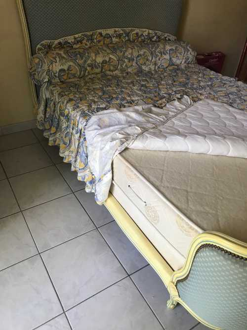 lit style louis XV pour 2