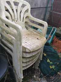 5 chaises fauteuils de jardin