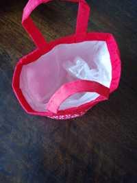 Petit cache pot en tissu