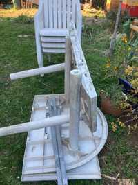 Table et chaises de jardin