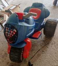 Moto spiderman électrique