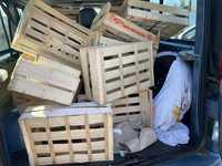 Cagettes à légumes en bois