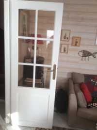 Portes vitrées petits carreaux